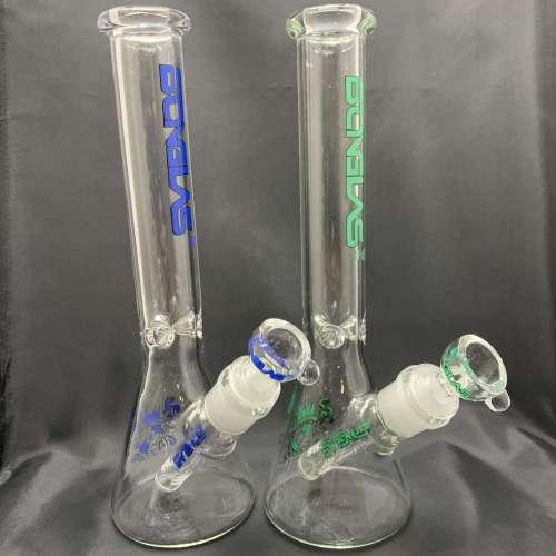 10'' Bonglas Label Beaker