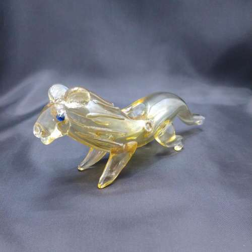 """6"""" Fumed Lion Hand Pipe"""