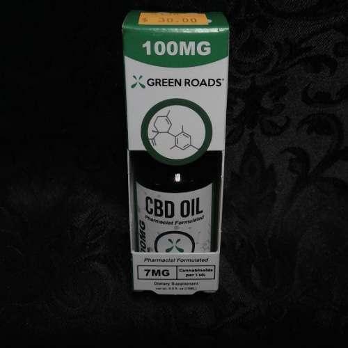 100MG CBD Oil Tincture