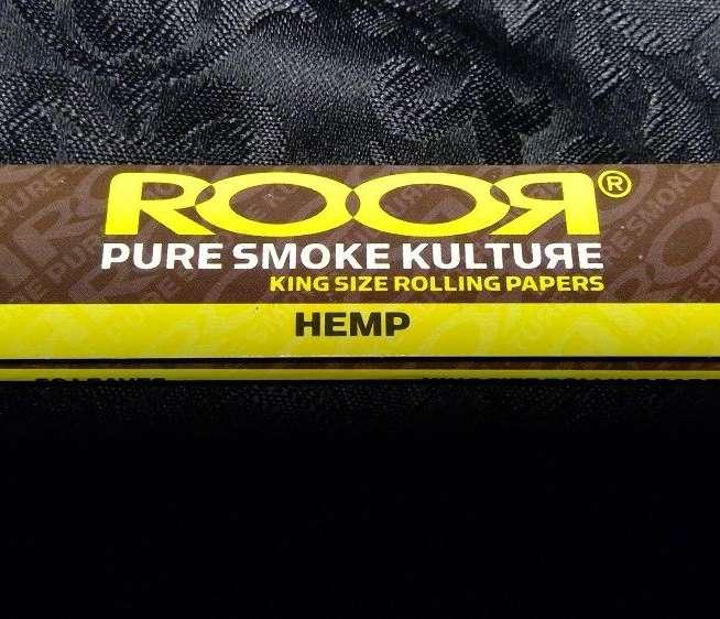 Roor Rolling Papers King Hemp