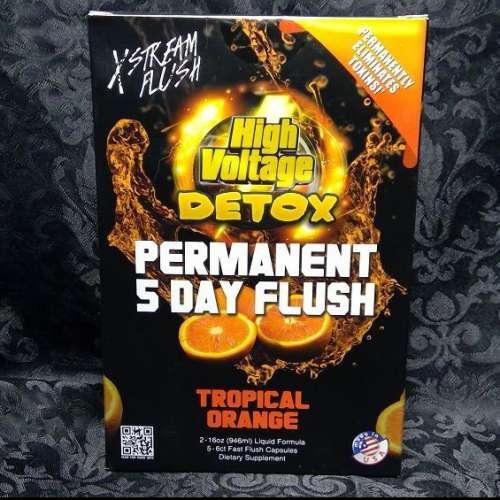 5 Day Flush Topical Orange